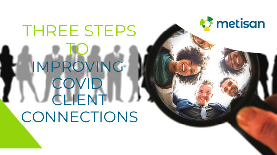 Three Steps to Improving Covid Client Connections